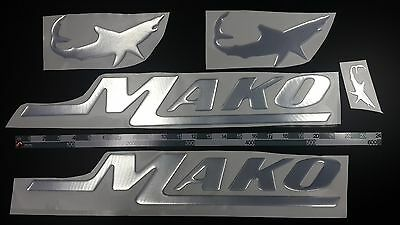 "mako boat emblem 22.5"" + FREE FAST delivery DHL express - stickers decal"