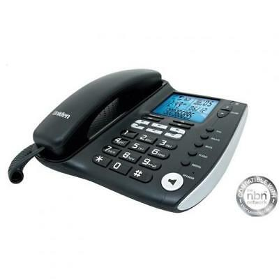 Uniden FP 1200 Corded Office Phone Advanced LCD,70 Phonebook Memory, Digital Dup