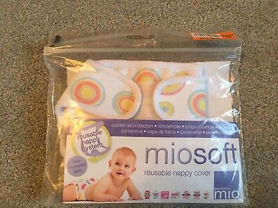 Miosoft Reusable Nappy Cover Newborn Brand New