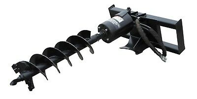 Skid Steer Auger Post Hole Digger For Bobcat, Deere, CAT, JCB, KUBOTA etc...