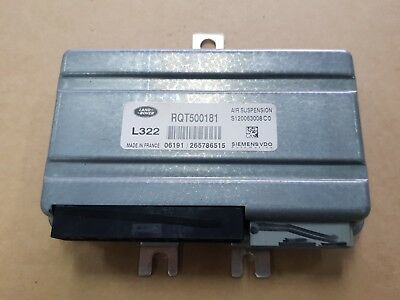 AIR SUSPENSION CONTROL Ecu Module RQT000011 (Ref 841) 03