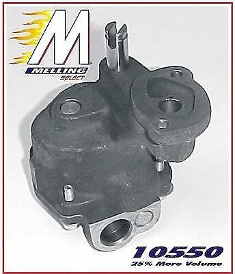 Melling 10550 Engine Oil Pump - Performance