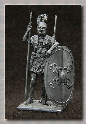 """Tin soldiers """"Ancient Rome"""" (54 mm, 1/32) # A 180 Roman legionary,1st century BC"""