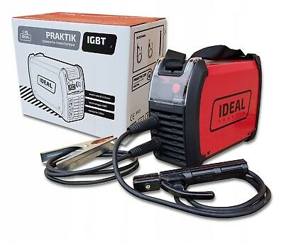 IDEAL 200 Praktik 205D Inverter ARC Welder IGBT Stick MMA 200amp