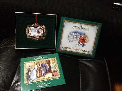 WHITE HOUSE HISTORICAL ASSOCIATION  2011 Christmas Ornament In Original Box LOOK