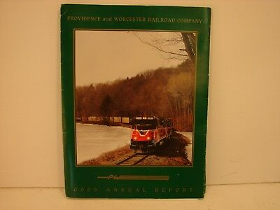 2006 Providence and Worcester Railroad  Annual Report Folder