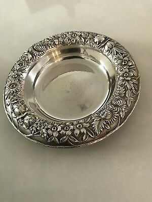 Kirk Sterling Silver Repousse Bowl #418