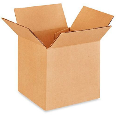100 5x5x5 Cardboard Paper Boxes Mailing Packing Shipping Box Corrugated Carton