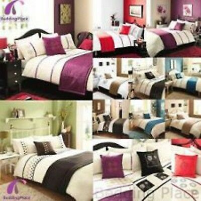 Luxury 5 PCs Bed Set Duvet/Quilt Cover set Cushion Cover Bed Runner Bedding Set