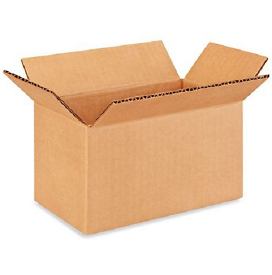 100 7x4x4 Cardboard Paper Boxes Mailing Packing Shipping Box Corrugated Carton