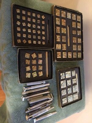 Lot Misc Leather Tools Stamps Craftool & More