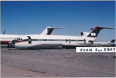 Delta Air Lines Kodachrome Super Boeing 727S Jet Scrapped Victorville, CA