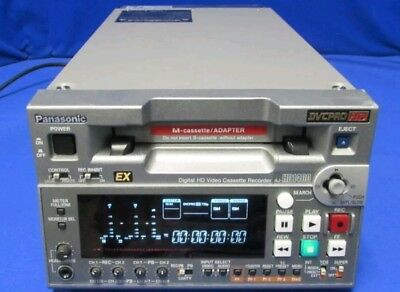 Panasonic AJ-HD1400 Compact DVCPRO HD Recorder w/ 722 tape hrs