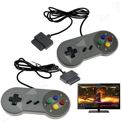 2Pcs Usb Wired Controller Joypad For Microsoft Pc Windows Ios Android