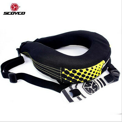 SCOYCO N02-B Motorcyles Anti-fatigue Neck Protection Auto Racing Safety Gear