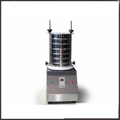 New Motorised Sieve Shaker Vertical Vibrator Machine Electric Sieve Shaker 220V