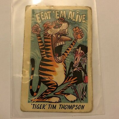 Tiger Tim Thompson #23 Card
