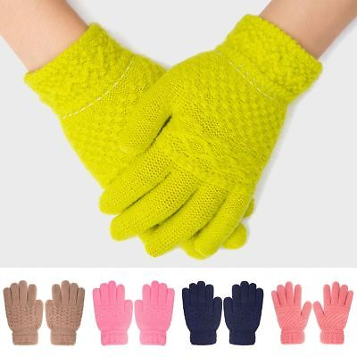 Girl Kids Gloves Winter Warm Children Gift Cotton Comfortable 15cm/5.9""