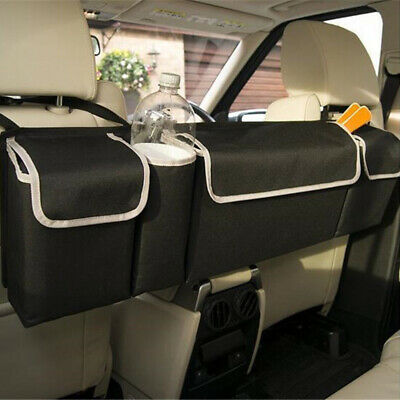 Car Back Seat Trunk Storage Bag Organizer Pocket High Capacity Multi-use Black