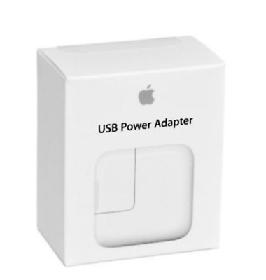 (2 Pack) Apple 12W USB Power Adapter Plug for iPad, iPhone, and Watch-