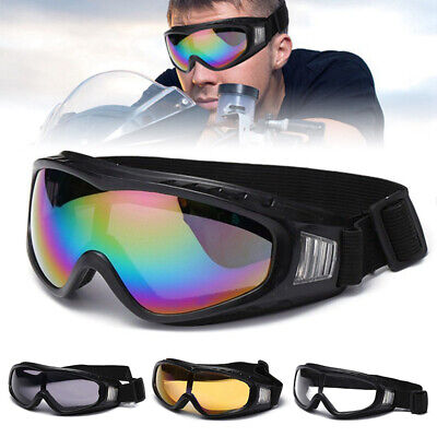 Motorcycle Motocross Goggles ATV Dirt Bike Off Road Racing Glasses Anti-UV Dust