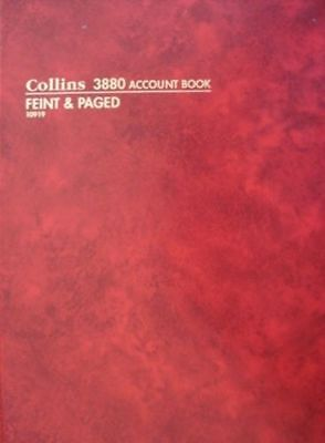 NEW Collins Debden 3880 A4 Feint & Paged 10919 FREE Postage -Buy in bulk & save