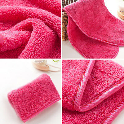 Soft 1pcs Soothing Microfiber Face Towel Cleaning Wash Cloth Hand Square Towel
