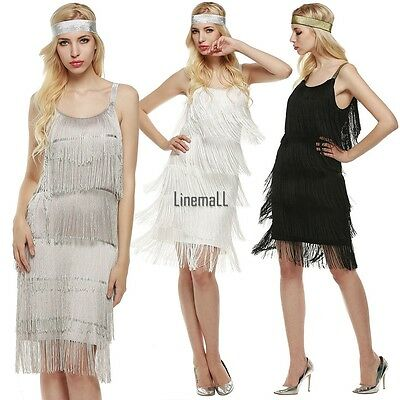 Fashion 1920s Roaring 20s Charleston Gangster Flapper Gatsby Fancy Dress Costume