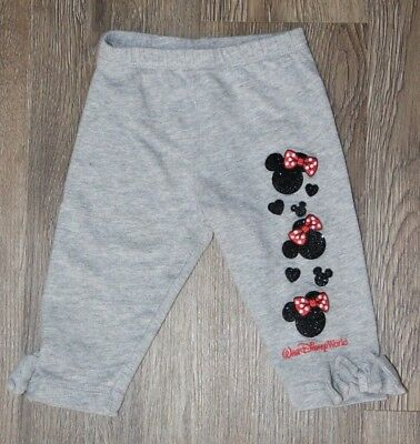 Walt Disney World Baby Girl's Minnie Mouse Pants ~ Size 6 Months