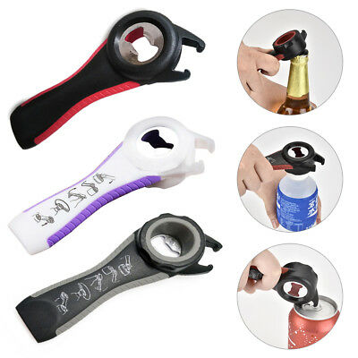 All In One Bottle Opener Jar Can Kitchen Manual Tool Gadget Multifunction New