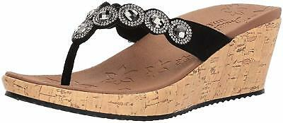 6f85ace5be901c SKECHERS WOMEN S BEVERLEE-BIZZY Babe Wedge Sandal - Choose SZ Color ...