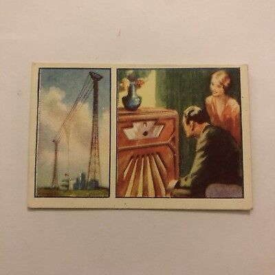 Wonders Of The World Cigarette Card #33 Wireless