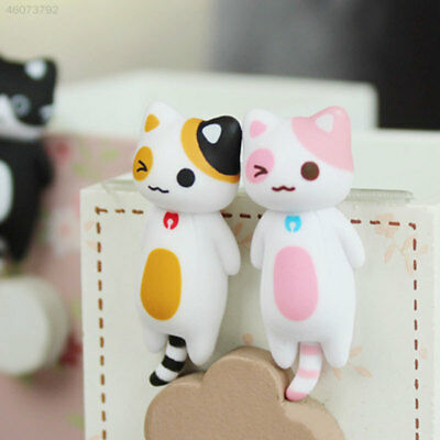 Resin Cute Lazy Cat Anti-Dust Cellphones Jack Charm Plug Dustproof Protection
