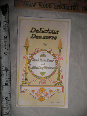 "Antique Dunham's Original Shred Cocoanut ""Delicious Desserts"" Recipe Booklet"
