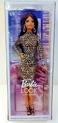Barbie Doll The Barbie Look Shine City Black Label