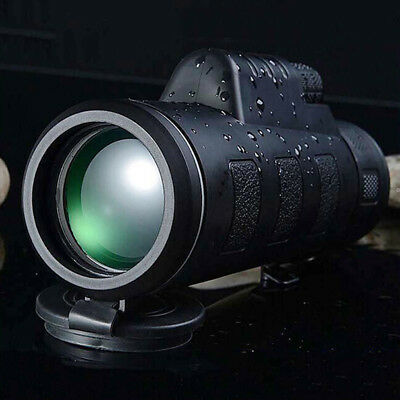 40*60 HD Monocular Telescope Shimmer Day&Night Vision Outdoor Hiking Travelling