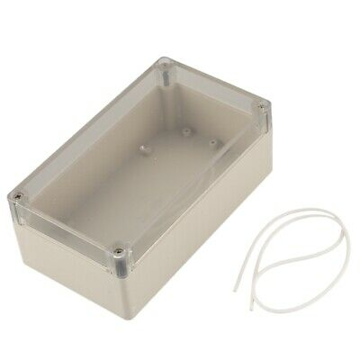 Waterproof electronic project box clear cover plastic 158x90x60mm Q2C8