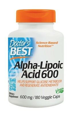 Alpha-Lipoic Acid 600 Doctors Best 180 VCaps