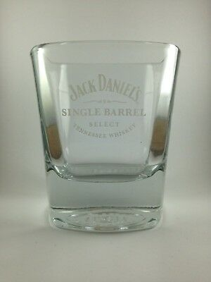Jack Daniels Single Barrel Select Glass Tumbler New and Unused