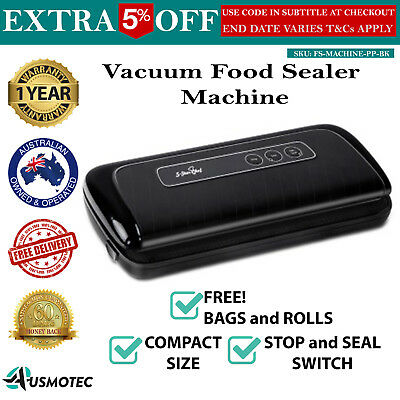 Vacuum Sealing Sealer Machine Food Storage New Packaging System Cryovac Chef
