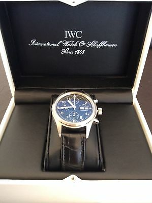 IWC Pilot Der Flieger Chronograph Watch