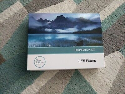 LEE FILTERS FOUNDATION KIT THE 100mm SYSTEM NEW