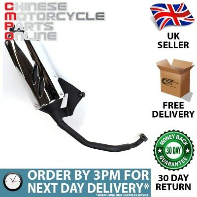 125cc Scooter Exhaust System for ZN125T-7H (EXSTMCMP098)