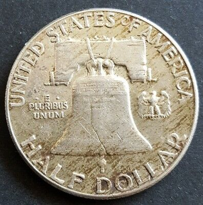 United States 1963 Franklin half dollar