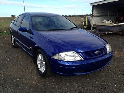 2001 au ford falcon sr 164kms good condition sold with rwc grate first car