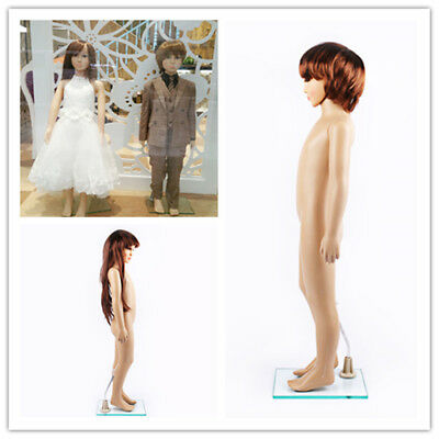 Boy and girl Mannequin Full Body Clothes Display Showcase Commercial Detachable