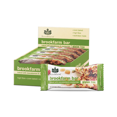 Brookfarm Gluten Free with Cranberry and Macadamia Bar