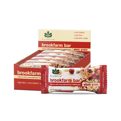 Brookfarm Toasted with Cranberry and Macadamia Bar