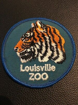 Bengal Tiger - Louisville Zoo - Louisville Kentucky - Embroidered Patch