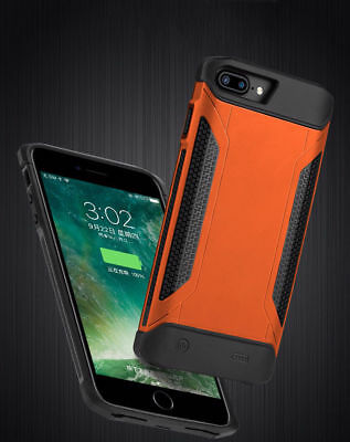 External Power Battery Pack Charger Armor Case for iPhone 6s 7 8 plus Protective